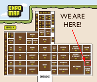 PAX 2012 Expo Map